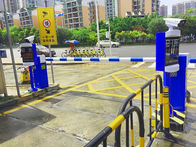宝安客运中心汽车站案例_停车场系统案例_车牌识别_场