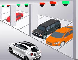 车位指引效果图