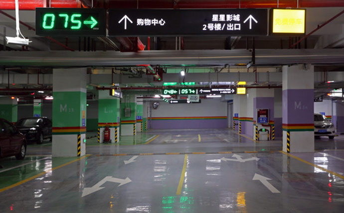 商场引进智慧停车系统,提升购物体验