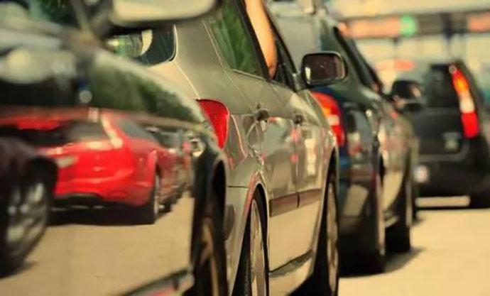 车辆排队识别