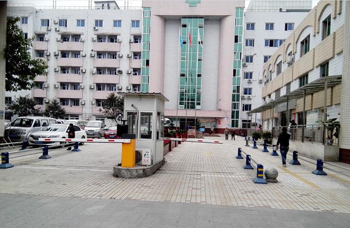 医院停车场